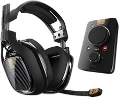 Astro Gaming A40TR PS4 Headset & MixAmp Pro TR Black