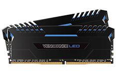 Corsair Vengeance LED CMU32GX4M2C3200C16B 32GB (2x16GB) DDR4