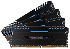 Corsair Vengeance LED CMU32GX4M4C3000C15B 32GB (4x8GB) DDR4
