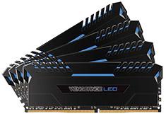 Corsair Vengeance LED CMU64GX4M4C3200C16B 64GB (4x16GB) DDR4