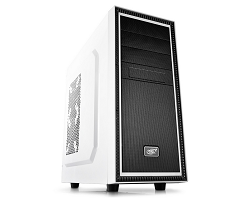 Deepcool White Tesseract BF Mid Tower Case