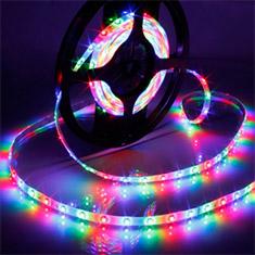 LEDware RGB LED Flex Ribbon Strip Kit 12V 1.2m