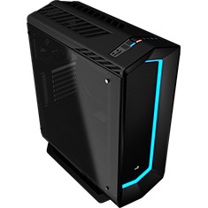 Aerocool P7-C1 Tempered Glass Mid Tower Case Black