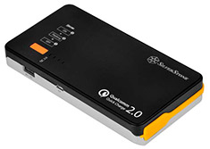 SilverStone PB06BS 10000mAh Power Bank with Car Jump Start
