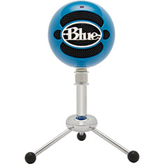 Blue Microphones Snowball USB Microphone Neon Blue
