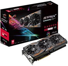 ASUS ROG Radeon RX 480 Strix Gaming OC 8GB