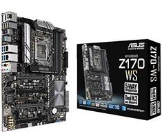 ASUS Z170-WS WorkStation Motherboard