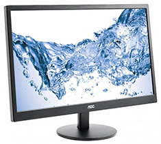 AOC E2470SWH FHD 24in Monitor