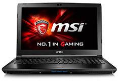 MSI GL62 15.6in Core i7 Gaming Notebook [6QF-1497AU]