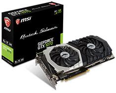 MSI GeForce GTX 1070 Quick Silver 8GB