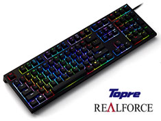 Topre Realforce RGB Premium Gaming Keyboard