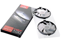 XFX Hard Swap Fan Kit with White LED Lighting