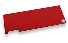 EK Full Cover EK-FC Titan X Pascal Backplate Red