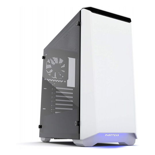 Phanteks Eclipse P400S Tempered Glass Glacier White