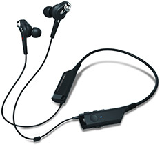 Audio-Technica ANC40BT In-Ear Noise Cancelling Headphones