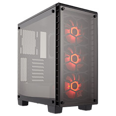 Corsair Crystal Series 460X RGB Compact ATX Case