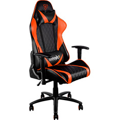 Aerocool Thunder X3 TGC15 Gaming Chair Black Orange