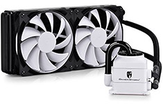 Deepcool Gamer Storm Captain 240 AIO Liquid Cooling White