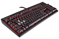 Corsair Gaming Strafe Mechanical Keyboard Cherry MX Silent
