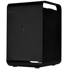 SilverStone CS01B-HS Storage Tower Case Black