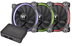 Thermaltake Riing 140mm RGB Fan TT Premium Edition 3 Pack