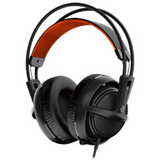 SteelSeries Siberia 200 Gaming Headset Black