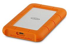 LaCie 4TB Rugged USB-C Portable HDD