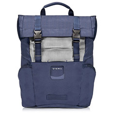 Everki ContemPRO 15in Roll Top Backpack Navy