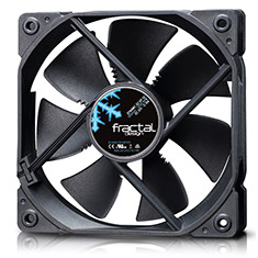 Fractal Design Dynamic X2 GP-12 120mm Fan Black