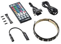 CableMod WideBeam Hybrid LED Kit RGB/UV 60cm