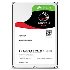 Seagate Ironwolf ST10000VN0004 3.5in 10TB NAS HDD