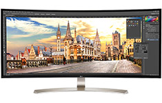 LG 38UC99 38in Curved UltraWide QHD IPS FreeSync LED Monitor