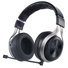 LucidSound LS30 Wireless Gaming Headset Black