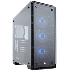 Corsair Crystal 570X RGB Black ATX Case