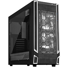 SilverStone Redline RL05 Case Black White