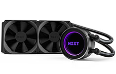 NZXT Kraken X52 240mm AIO Liquid CPU Cooler