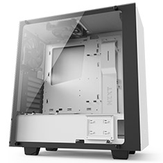 NZXT S340 Elite Case Matte White