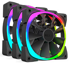 NZXT Aer RGB 120mm Fan Triple Pack