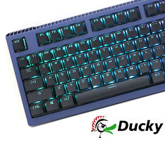 Ducky Shine 6 Special Edition Mechanical Keyboard Cherry White