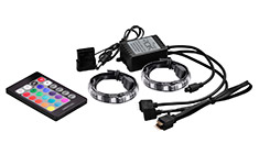 Deepcool RGB Colour LED 350 Strip Lighting Kit With Remote