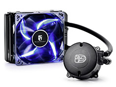 Deepcool Maelstrom 120T AIO Liquid Cooler Blue LED Fan