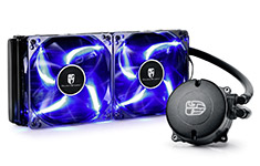 Deepcool Maelstrom 240T AIO Liquid Cooler Blue LED Fan
