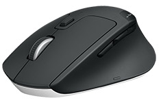Logitech M720 Triathlon Multi-Device Wireless / Bluetooth Mouse