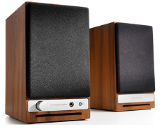 Audioengine HD3 Premium Wireless Speakers - Walnut