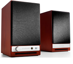 Audioengine HD3 Premium Wireless Speakers - Cherry