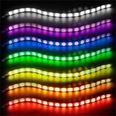 SilverStone LS02 RGB LED Strips 300mm