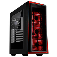 SilverStone Redline RL06 Pro Case Black Red