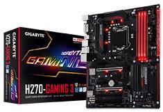 Gigabyte H270-Gaming 3 Motherboard