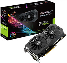 ASUS ROG Strix GeForce GTX 1050 Ti Gaming 4GB