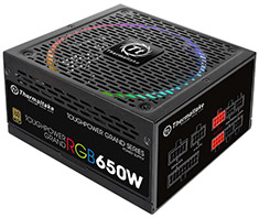 Thermaltake Toughpower Grand RGB Gold 650W Power Supply